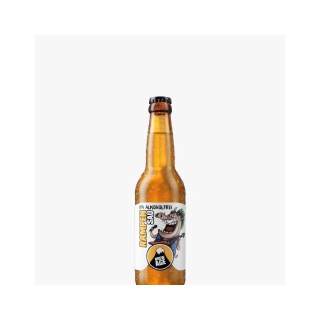 Brew Age Rampensau IPA Alkoholfrei