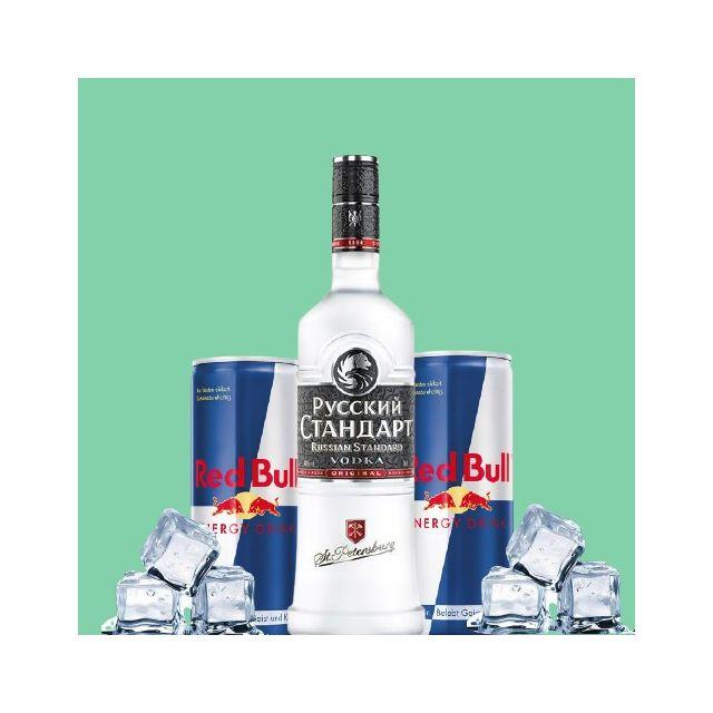 Vodka Bull Package